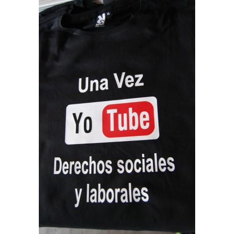 Camiseta Yo tube